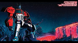Death of Optimus Prime wallpaper by dcjosh