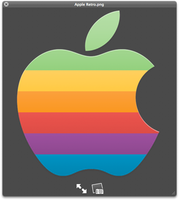 Retro Apple Icon by plonko