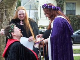 Goddess at her Handfasting 5 by peach1973