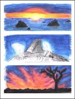 A few little Landscapes by SMS14