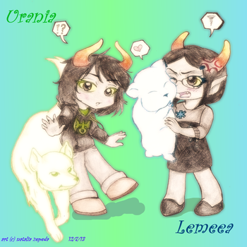 Trolls Lemeea and Urania RQ16 by 4naruto-girl