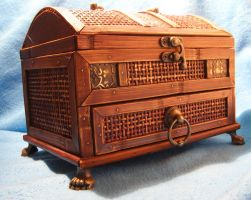 wooden chest 2... by chop-stock