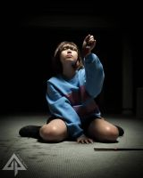Undertale//Cosplay: Frisk the Fallen Human by Killakuma