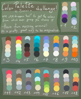Color Challenge by BonkiHart