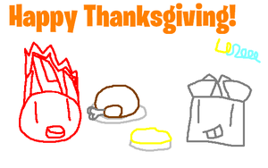 Mixels: Happy Thanksgiving by Luqmandeviantart2000