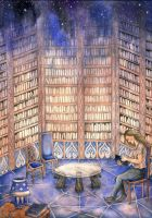 The Blue Library by Gawarin