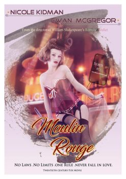 Moulin Rouge Poster by Renata-s-art