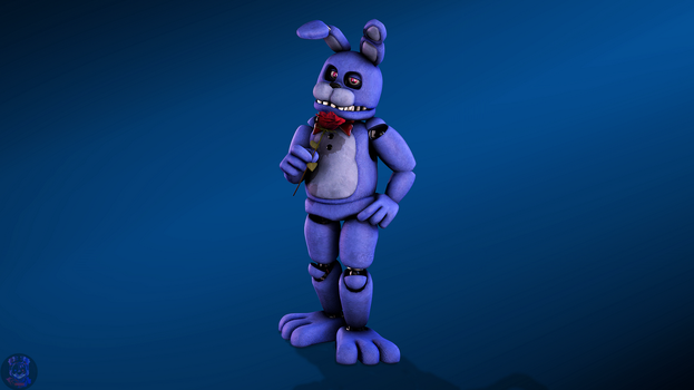 romantic bunny (lighting test) by Odrios