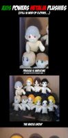 Hetalia Plushies - Preview by Darling-Poe