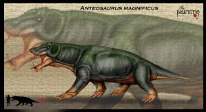 Anteosaurus magnificus by Theropsida