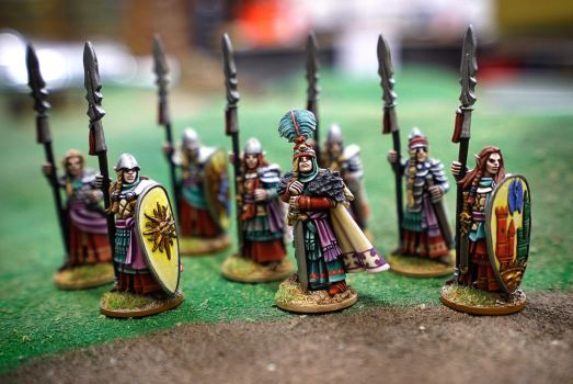 City Guard Elves by WarmongerMiniatures