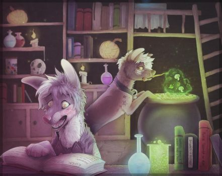 Potions Yesterday by trik-s