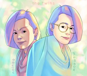 The twins by Hiswe