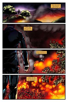 BLESSED SONS Issue 1 Page 1 by RichBernatovech