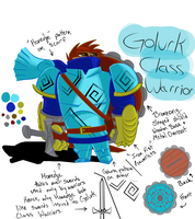 Pokemon Warrior - Golurk Class Knight by ArwingPilot114