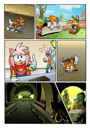 Sonic's World: The Sting Page 5 by MamboCat