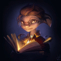 Guild Wars 2 Portrait Commissions - Henry by jylgeartooth