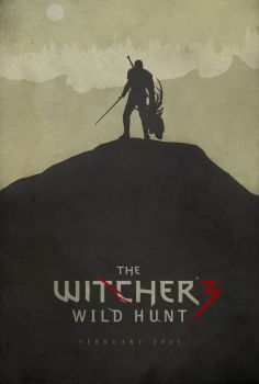 Hunting Evil - The Witcher 3: Wild Hunt Poster by edwardjmoran