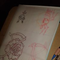 Rough sketches 1 by mxw8