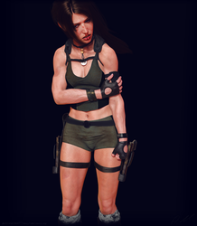 Tomb Raider Underworld outfit Lara (new skin test) by ArtiMuller