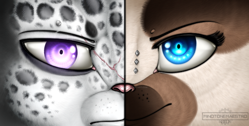 Eyes are windows to the soul by xMinotoneMaestro