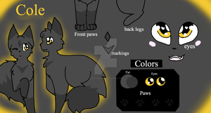 Cole Ref by Bindiluckycat