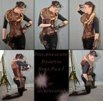 Post Apocalyptic Steampunk Stock Pack 3 by lucretia-stock