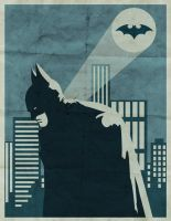 Batman by thoughtshower
