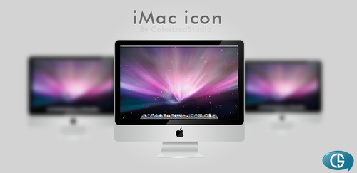 iMac icon by Color-Art
