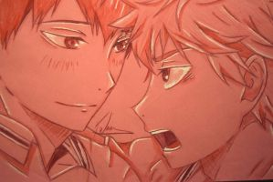 Pink: KageHina by kittykatkays