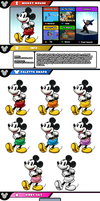 Newcomer Mickey Mouse by evilwaluigi