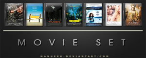 Movie DVD Icons 19 by manueek