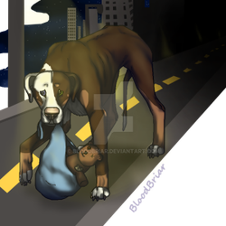In The Streets by BloodBriar