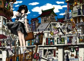 Mysterious Girlfriend X 1 by Gundegart