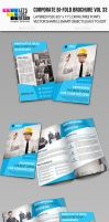 Creative Corporate Bi-Fold Brochure Vol 33 by jasonmendes