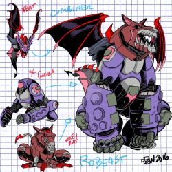 2016  Voltron Contest RoBeast Art Design by fbwash