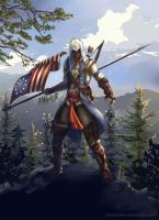 Assassins Creed 3 by ElinTan