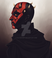 Darth Maul by goatrocket