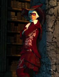 For the Masqurade Witch Hat by argel1200
