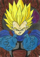 Super Vegeta by TheMagicUnderpants