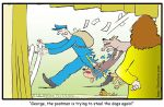 Postman stealing the dogs again by ibnelson