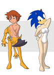 Chris and Sonic to Roge and Vanilla 3 by Vytz