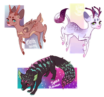 [CLOSED]Mixed Feral Adopts by zolelie