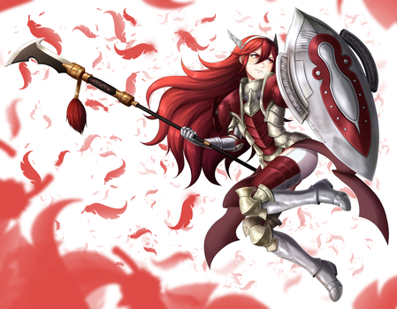 CM: Great Knight Caeldori by adricarra
