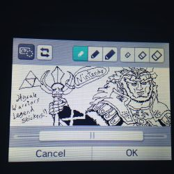 Ganondorf on my Mii Verse by ForestKitty22