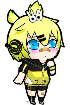 Len Stylish Energy L by winterchicken-chan