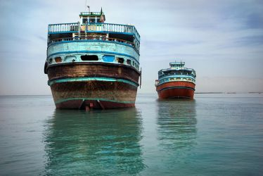 Old Iranian wooden ships by CitizenFresh
