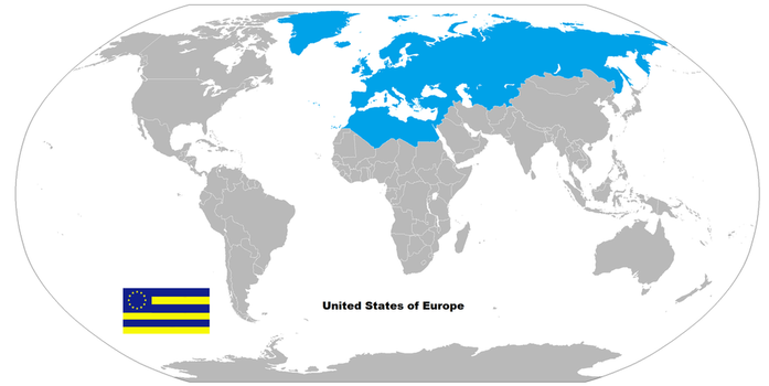Real world maps on mapsandflags deviantart schrodinger excidium 22 17 my euro universe map by 3d4d gumiabroncs Gallery