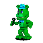 Aqua The Greenbear ADVENTURE VERSION by JustinCalhoun
