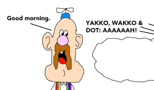 Uncle Grandpa's Good Morning Scared the Warners by MikeJEddyNSGamer89